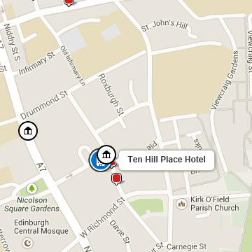 Find out more about Ten Hill Place Hotel